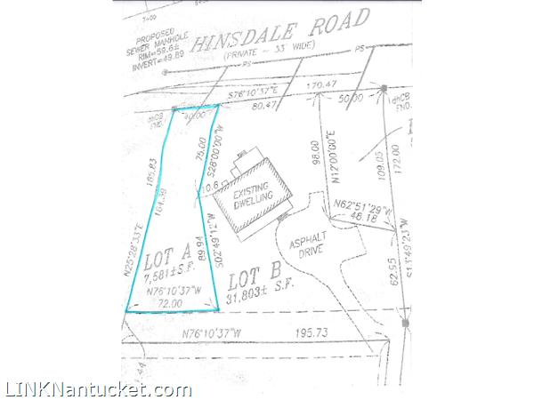 31 Pine Crest Drive (portion of; Lot A)