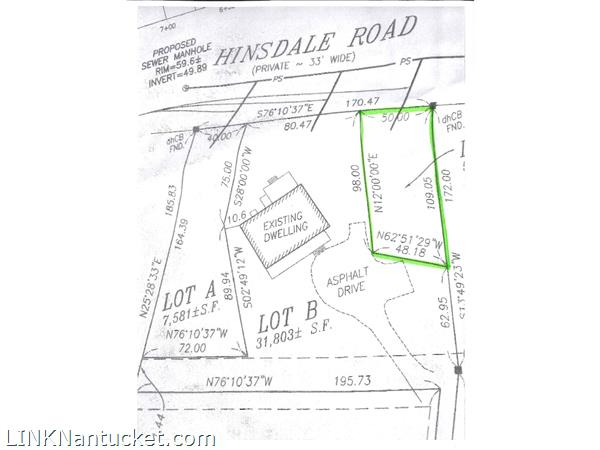 31 Pine Crest Drive (portion of; Lot C)