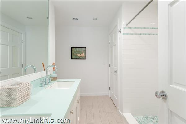 Lower Level - Full Bath with Oversized Shower and New Glass Door (new photo to come)