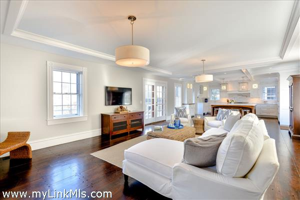 Great Room with French Door to Deck