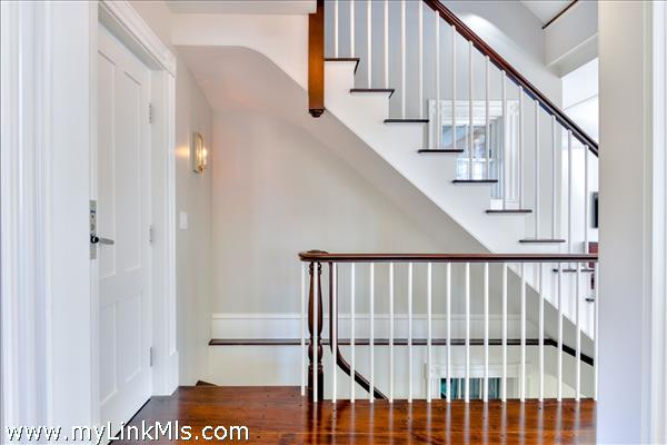 Stair to Lower Level and Second Floor
