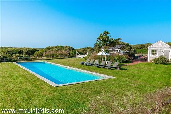 60-foot long heated salt water pool