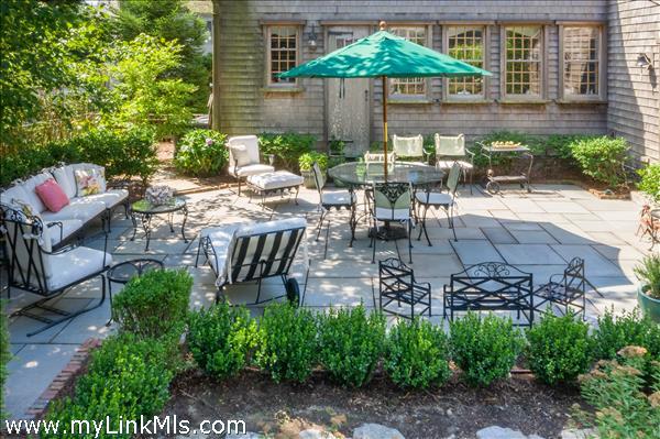 Back patio/terrace