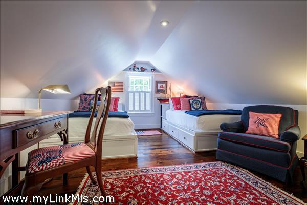 Third floor guest bedroom