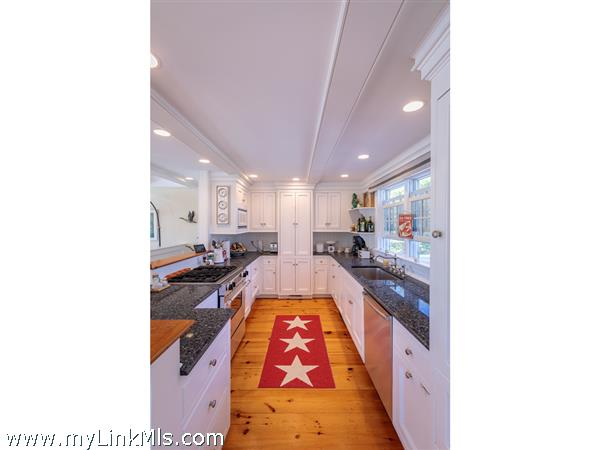Large Chef's kitchen with top of the line appliances