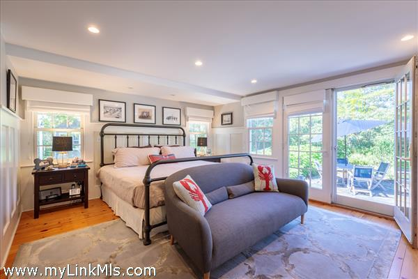 Master suite with access to the back patio