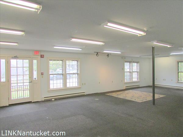 Commercial space prior to recent renovations made by existing tenant.