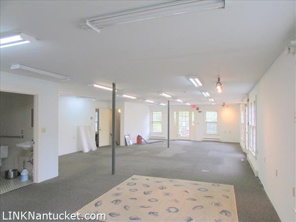 Shop space, show room or office prior to recent renovations made by existing tenant.