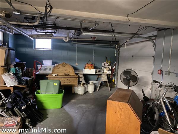 Basement garage / storage