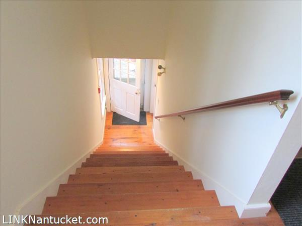 Stairwell to Entrance to Apt. B