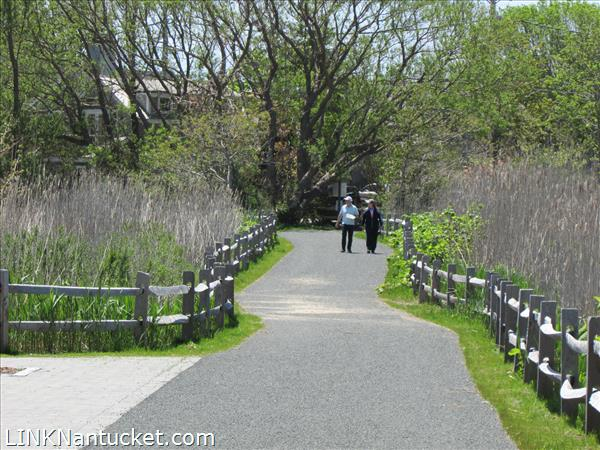 Scenic bike path right next door is a short cut to Town through the Salt Marsh past Consue Springs duck pond with views of the harbor and Monomoy  Creeks.