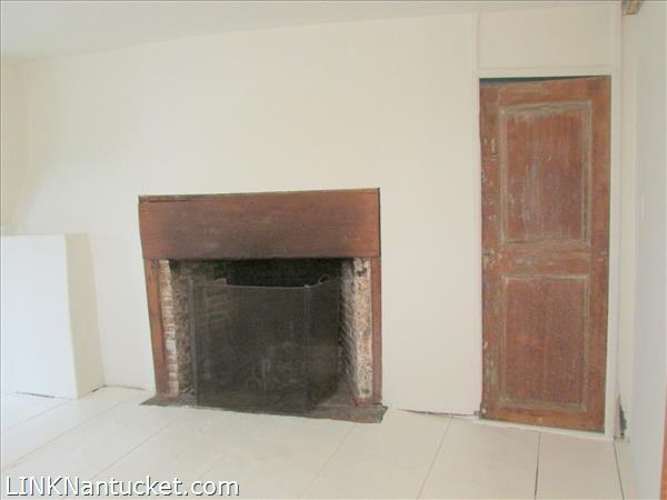 Dining Room Fireplace & Bedroom Door Apt.B
