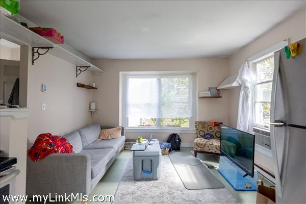 Living room in 1-bedroom cottage