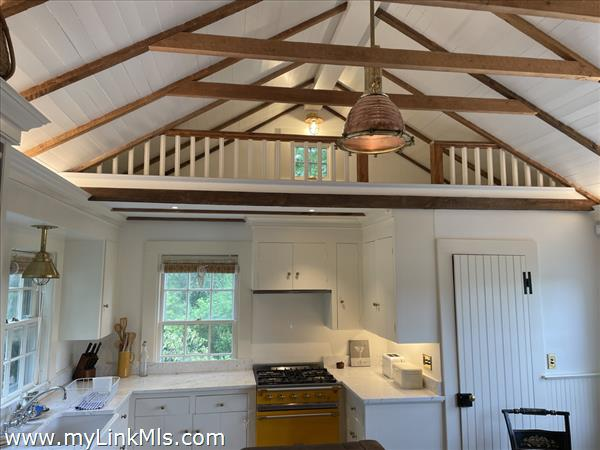 Kitchen with cathedral ceilings - updated 2021