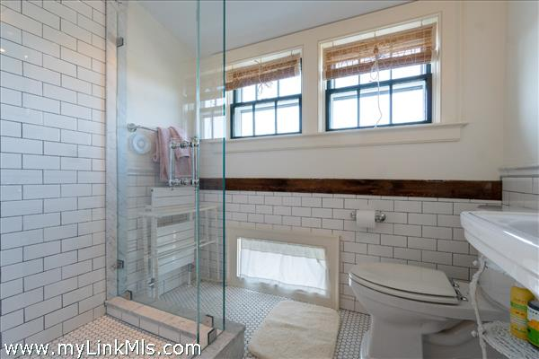Guest bath with shower