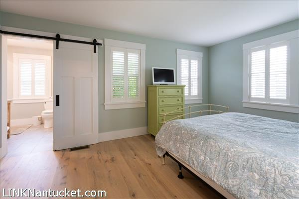 1st floor bedroom with private full bath