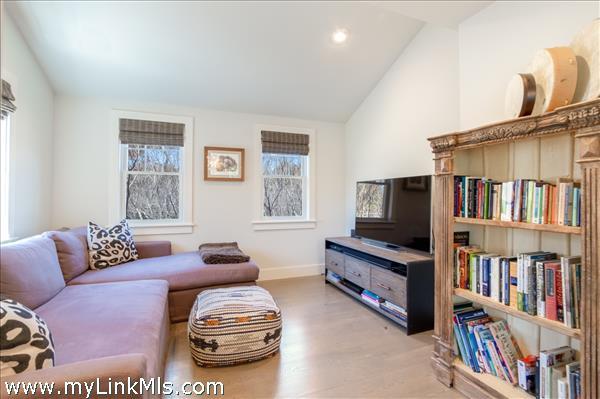 Den off living room
