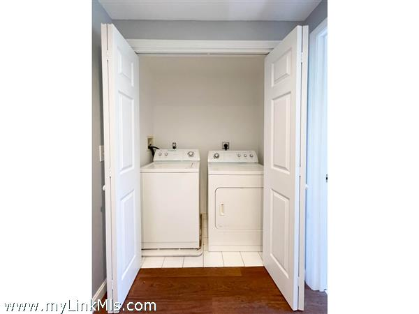 35 Macy rear house washer and dryer.