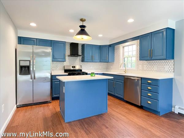 3 Macy rear house showing remodeled kitchen.