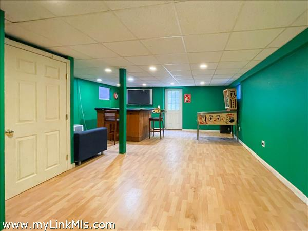 35 Macy game room.  TV and pinball machine included!